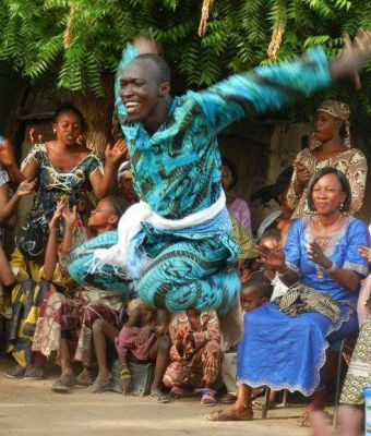 West African Dance with Souleymane Solo Sana and Ismael Bangoura of Jeh Kulu! Wolcott Vermont