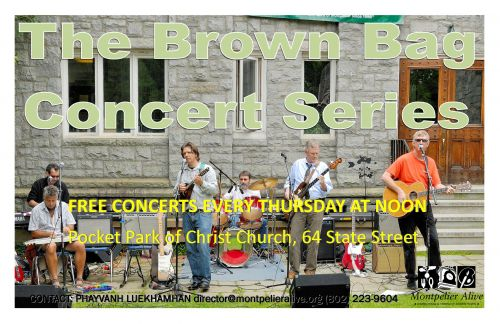 Brown Bag Concert Series:  <i>Starline Rhythm Boys</i> Montpelier Vermont