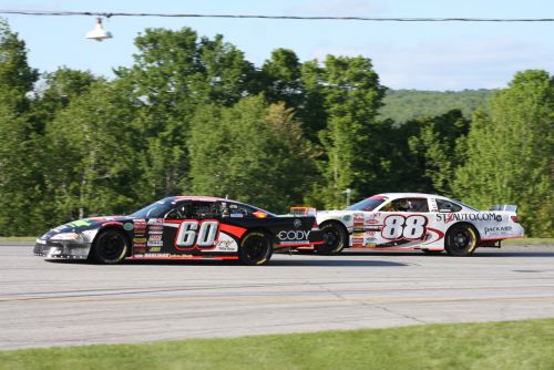 Current point leaders Derrick O'Donnell (60VT) (2nd) and Nick Sweet (88VT) (1st). Credit Alan Ward
