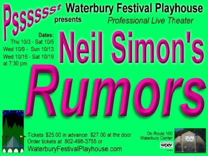 <b>Rumors</b> Waterbury Center Vermont