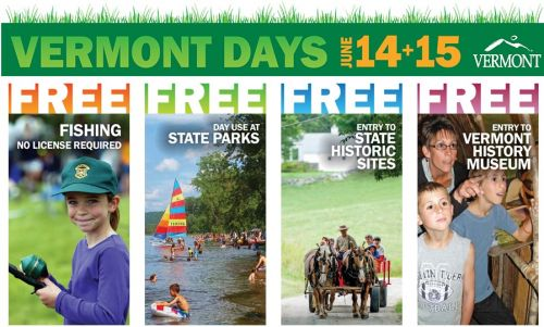 Free Admission to Vermont State Parks and Historic Sites on Vermont Days Montpelier Vermont