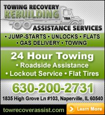 Towing Company Naperville, IL