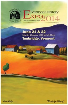 Poster for Vermont History Expo