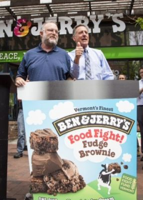 Ben & Jerry's Renames Iconic Flavor to Support Vermont's GMO Labeling Food Fight Fund Waterbury Vermont