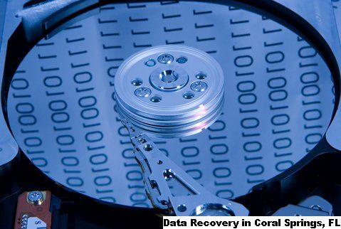 Data Recovery in Coral Springs, FL Pompano Beach Florida