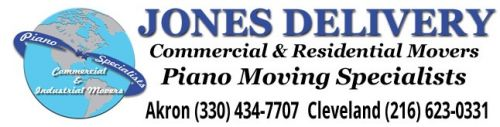 Jones Delivery Piano Moving Specialists Akron Ohio