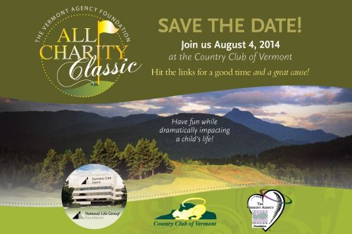 The  Vermont Agency Foundation 3rd Annual All Charity Classic Waterbury Center Vermont