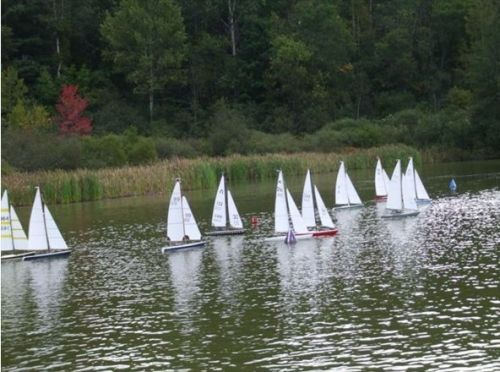 Can/Am Model Sailboat Challenge Cup Stowe Vermont