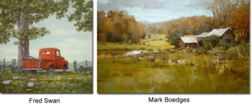 Fred Swan & Mark Boedges - Opening Reception Stowe Vermont