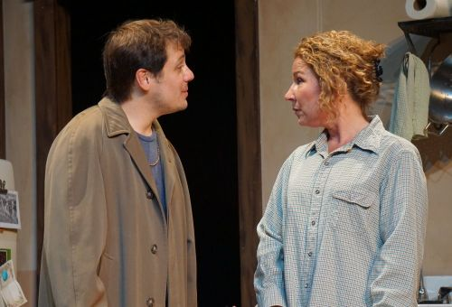 (From Left to Right) Seth Jarvis as Johnathan Waxman,  Linda Ianuzzi as Patricia
