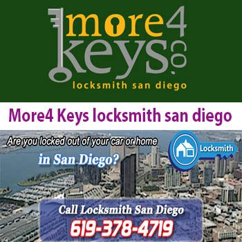 More4 Keys locksmith san diego CA California