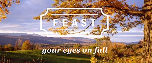 Feast your eyes on fall