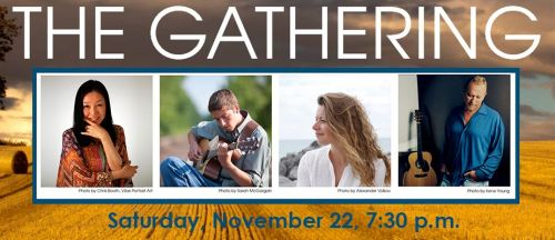 Grammy Award Winner Will Ackerman and Friends to Perform in THE GATHERING on Saturday, November 22 in Stowe! Stowe Vermont