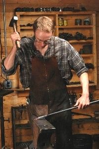 River Arts Presents - Blacksmithing Workshop with Lucian Avery Hardwick Vermont