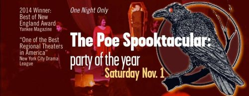 The Poe Spooktacular by Lost Nation Theater Montpelier Vermont
