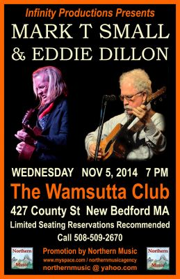 Mark T Small and Eddie Dillon Concert