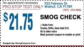 $21.75 Smog Check - Smog Coupon – DMV Smog Station