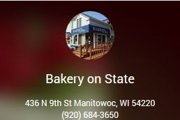 Bakery on State Manitowoc Wisconsin