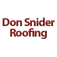 Don Snider Roofing & Gutters Liberty Township Ohio