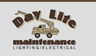 Day-Lite is a full-service lighting and electrical service maintenance company specializing in exterior commercial lighting.
