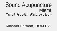 Sound Acupuncture Miami P.A. Miami Florida