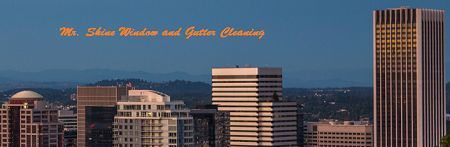 Mr. Shine Window and Gutter Cleaning Portland Oregon