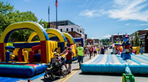 INFLATABLE FUN - ROUND ONE Barre Vermont