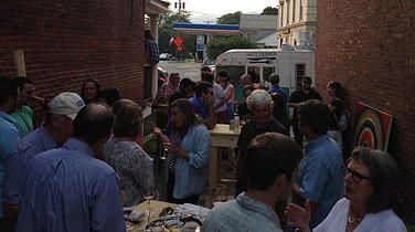 Music in the Alley Series Waterbury Vermont