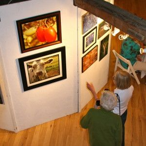 Photo Show in the Round Barn Waitsfield Vermont