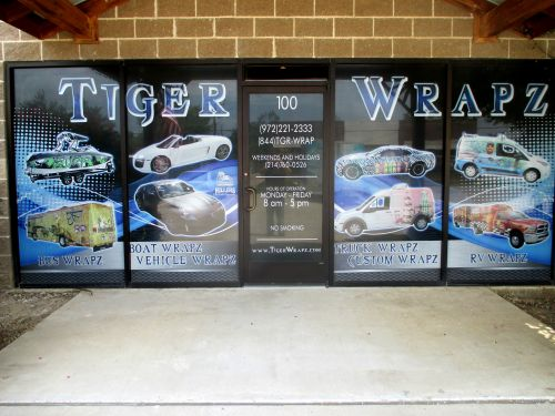 Tiger Wraps and Graphics, LLC Lewisville Texas
