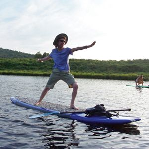 Paddleboard Yoga Waitsfield Vermont