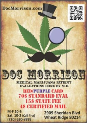 Doc Morrison - Red Card MMJ Evaluations CO Colorado