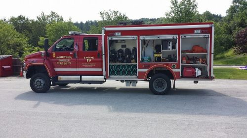 Community Heros and Touch-a-Truck Moretown Vermont