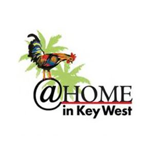 At Home In Key West Logo