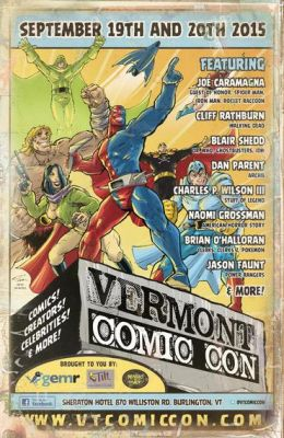 Vermont Comic Con South Burlington Vermont