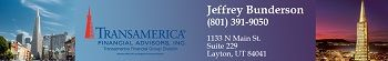 Transamerica Financial Advisors LLC, Jeffrey Bunderson Layton Utah