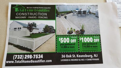 Total Home Beautifier Keansburg New Jersey