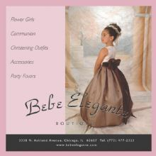 Bebe Elegante Children's Wear chicago Illinois