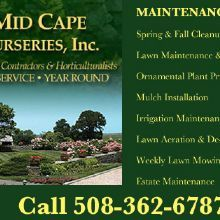 Mid Cape Nurseries Inc Yarmouth Port Massachusetts