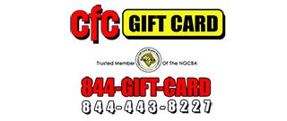 CFC Gift Card Mesa Arizona