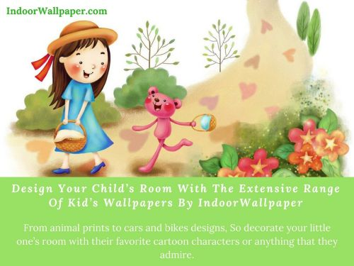 Design Your Child's Room With The Extensive Range Of Kid's Wallpapers By IndoorWallpaper round rock Texas