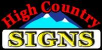 High Country Signs Lakeside Arizona