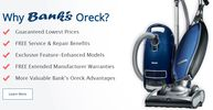 Bank's Oreck Vacuum and Clean Home Centers Las Vegas Nevada