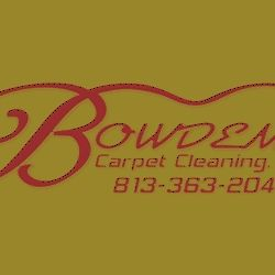 Bowden's Carpet Cleaning Tampa Florida