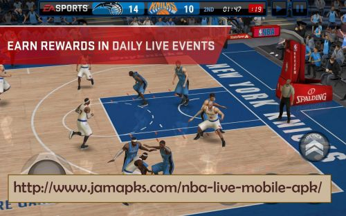 NBA Live Mobile APK Concord California