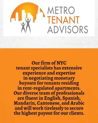 Metro Tenant Advisors LLC New York New York
