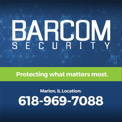 Barcom Security Marion IL. Marion Illinois