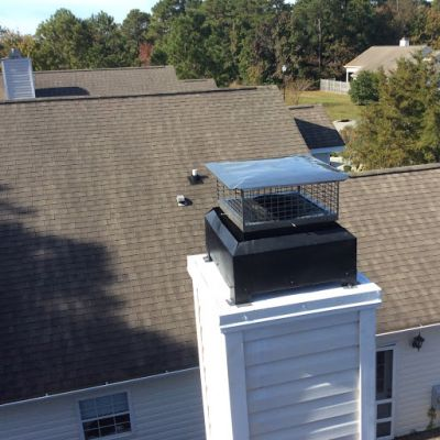 AAA Affordable Chimney and seamless gutter Wilmington North Carolina