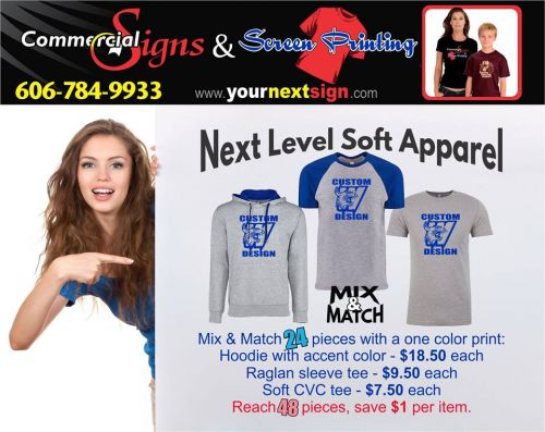 Commercial Signs & Screen Printing Morehead Kentucky