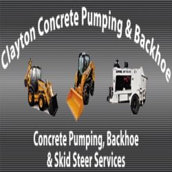 Clayton Concrete Pumping & Backhoe Seminole Oklahoma